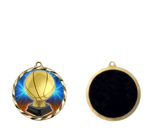 NEW Basketball Medal | Basketball Trophy Medal | Express Medals